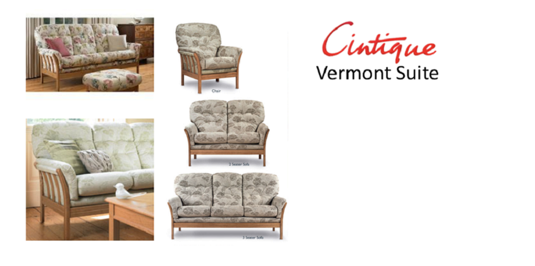 The Cintique Vermont offers a solid ash showwood frame with feature slats to the back and sides of the model. The buttoned back cushions and the supportive ...  sc 1 st  Cintique u2013 Watts the Furnishers & Cintique u2013 Watts the Furnishers islam-shia.org